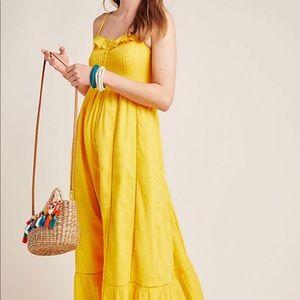 Arcadia Maxi Dress; Anthropologie